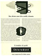 Publicité ancienne dentifrice Chlorodont  1941 no 2