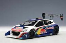 AUTOART PEUGEOT 208 T16 PIKES PEAK WINNER 2013 RED BULL LOEB #208 1:18*New!
