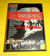 PHILIPPINES:KARAPATANG PANTAO,TAPE,RARE,Pinoy Rock,OPM,Wuds,Lokal Brown,Spy