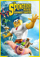 The SpongeBob Squarepants Movie: Sponge out of Water (DVD, 2015)