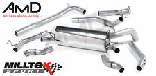 Honda Civic Type R FN2 Milltek non-resonated cat back exhaust system
