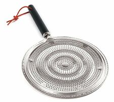 Norpro 144 Heat Diffuser Size:One Size Made of tin with a wooden handle BRANDNEW