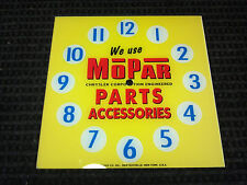 "*NEW* 15"" MOPAR CHARGER CHALLENGER HOT ROD SQUARE GLASS clock FACE FOR PAM"