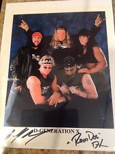 Road Dogg & Billy Gunn DX Signed WWE 8X10 Photo PSA/DNA Quick Opinion