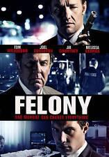 Felony, Very Good DVD, Leo Rossi, Lance Henriksen, David Warner, Jeffrey Combs,