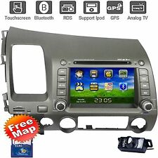 CA9 Car DVD Player Radio Stereo GPS Nav For Honda Civic 2007 2008 2009 2010 2011