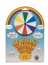 Newton's Colour Wheel by Education Harbour Ltd - Super Spinner and Seven Discs!