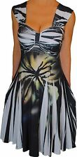 JJ2 Funfash Plus Size Dress Black White Empire Waist Cocktail dress 1x 18 20