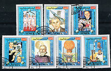 Yemen US Space Explorers set 1971