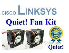 Quiet Version Cisco Linksys SRW2016 Fan Kit, 2xFans 12dBA Noise Best for Home