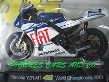MOTO GP 1/18 YAMAHA YZR-M1 # 46 COLLECTION  ROSSI WORLD CHAMPIONSHIP  2010