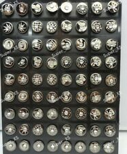 72PCS Wholesale Jewelry Lots  Stainless Steel Czech Rhinestone Stud Earrings