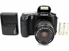 Canon EOS 10D 6.3MP Digital SLR Camera Black + Canon EF 28-80mm V USM Zoom Lens