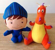 Fisher Price Mike The Knight Plush Set  Orange Dragon Sparkle Toy