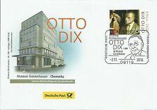 Erlebnis Briefmarken - ESST Chemnitz - Otto Dix - Auflage 1000 Stück/Nr.184