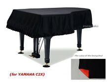 Grand piano light shielding cloth cover (for YAMAHA C2X) GP-SBKR / From Japan