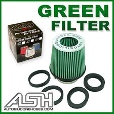 Performance Cone Air Intake Filter Green Universal