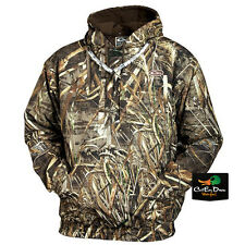 DRAKE WATERFOWL MST WATERPROOF HOODIE PULLOVER COAT MAX-5 CAMO LARGE