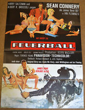JAMES BOND 007 - FEUERBALL - FILMPLAKAT A1 - SEAN CONNERY - AF472