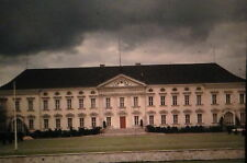 KODACHROME 35mm Slide Germany West Berlin Bellevue Palace Schloss Old Car 1964!