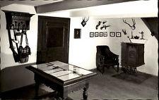 Alhausen AK ~1950/60 Geburtshaus Fr. Wilh. Weber Gedächtniszimmer Ofen Sessel