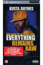 PSP UMD - BUSTA RHYMES - EVERYTHING REMAINS RAW **NEU**
