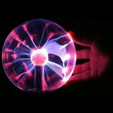 Touch Sensitive Plasma Ball Globe Sound Activated Constantly On USB Lighting WTC