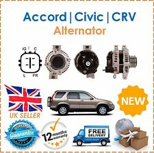 Alternator For Honda Accord MK7 Civic & CRV CR-V 2.2 CTDi TD Diesel 2005-2009