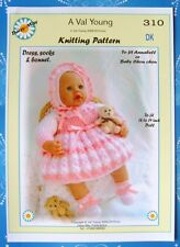 Dolls knitting pattern by Daisy-May for Annabell  No.310 new Nov 2015