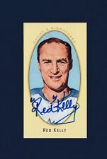 Red Kelly signed Toronto Maple Leafs 2011 Upper Deck Parkhurst hockey card