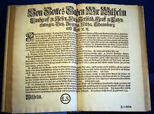HESSEN - Sammelband mit 32 Verordnungen 1752 - 1755 - Originale!!