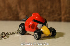 NEW Red Angry Birds Custom Car KeyChain FOB Porte Cles Llavero Schlusselhanger