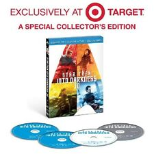 Target Exclusive Star Trek Into Darkness 3D Blu-ray DVD 2013 4-Disc + Bonus Disc