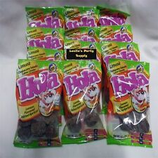 12-Pack Hola saladitos (salted apricot) lemon flavored 1.2oz bags Mexican candy