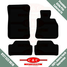 NISSAN MICRA 05-09 CC DOOR 650g HIGH PILE TAILORED PREMIUM CAR MAT BLACK