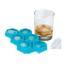 3D Jewel Diamond Ice Cube Tray Bling Silicon Accessories