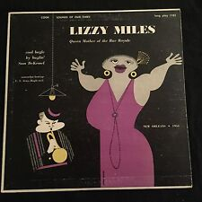 Lizzy Miles Queen Mother of the Rue Royale New Orleans Blues Cook Records 10""