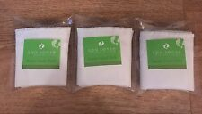 3 x 100% COTTON MUSLIN FACE CLOTH super soft Skin Care Massage & Invigorates