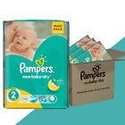 _ PAMPERS-New Baby-Dry-Gr.2 MINI 3-6 kg-Versorgung 76/132/ 264 / 396/500 Stücke