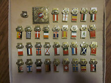 1984 UEFA CUP SOCCER / FOOTBALL PIN SET RUSSIA