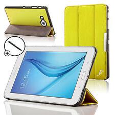 Funda inteligente de cuero plegable amarillo Samsung Galaxy Tab Lite 7.0 Stylus E