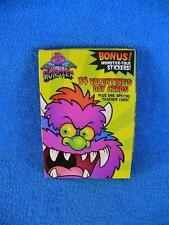 My Pet Monster 2001 Valentine's Day Cards w/Bonus Monster Talk Stickers - New !