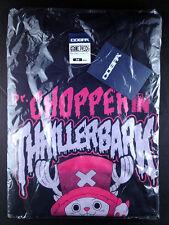 One Piece Chopper in Thrillerbark T-shirt M Black Cospa Tony Tony Chopper New