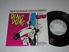 """7""""/ERSTE ALLGEMEINE VERUNSICHERUNG/EAV/DING DONG/Emi 006-1334667"""