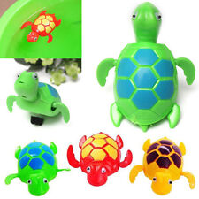 Wind up Swimming Turtle Animal Toy For Kids Baby Children Pool Bath Time L7S