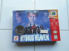 RARE Vintage 1999 HYBRID HEAVEN N64 Nintendo Video Game FACTORY SEALED