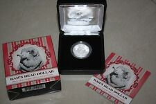 (PL) 2011 AUSTRALIA RAM'S HEAD DOLLAR $1 SILVER PROOF COIN UNC ROYAL MINT RAM