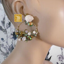 J Crew Cirque Jeweled Statement Earrings NWT $88  Style #E3254 TOP TEN FAVORITE!