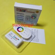 2.4G Touch Screen Dimmable LED RGB Remote Wireless RF Controller