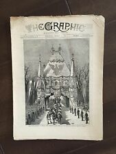 """""""THE GRAPHIC"""" (A Beautifully Illustrated British Weekly Newspaper)-Mar. 12, 1881"""